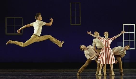 Photo of Smuin Ballet in Dear Miss Cline by David DeSilva