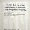 Photo: Stopping Fridge Theft By Any Means Necessary