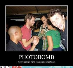 Photobomb circa 2011