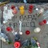 Photos: Makeshift Shrine for Slain Hells Angel