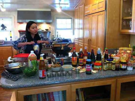 Pim Techamuanvivit teaches Meatless Thai Cooking on Nov. 4 - WASIM AHMAD