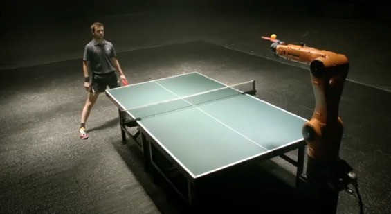 Ping Pong gets intense - YOUTUBE