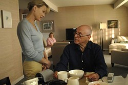 Pippa (Robin Wright Penn) and older husband Herb (Alan Arkin).
