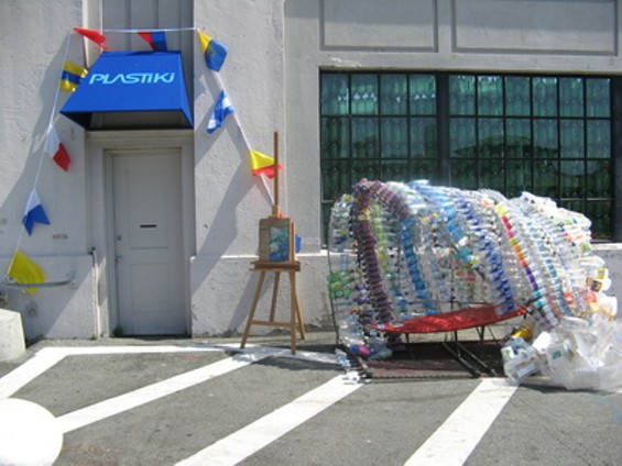 """Plastiki """"Mission Control"""" is now open at Pier 45"""