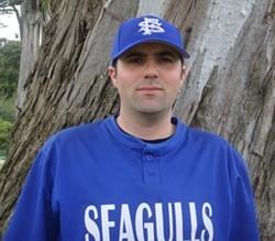 Playing first base, No. 33 Marc Caviglia