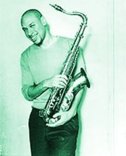 FRANK W. OCKENFELS 3 - Poised for a Curve: Joshua Redman and horn.