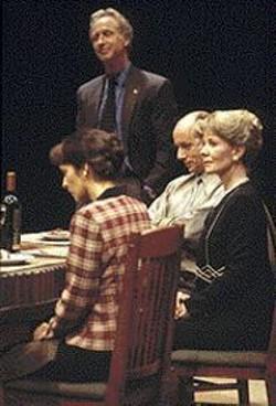 JENNIFER  REILEY - Politics at the dinner table -- uh oh.