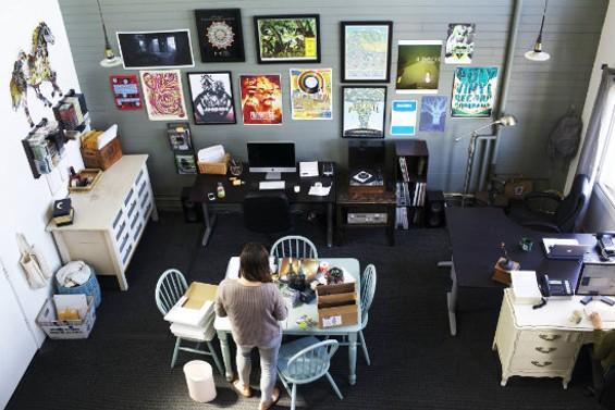 Polyvinyl's offices.