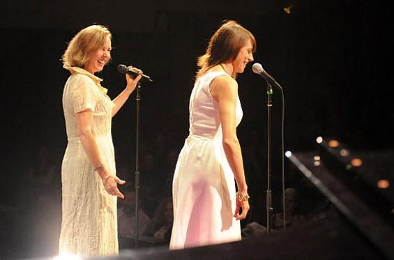 Porchlight founders Arline Klatte (left) and Beth Lisick opened Litquake in 2008.