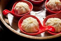 LARA HATA - Pork and black truffle juicy dumplings