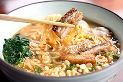 LARA HATA - Pork belly ramen: perfectly executed.