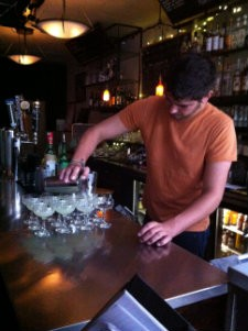 Pouring the Last Word at Café Royale - MOLLY GORE