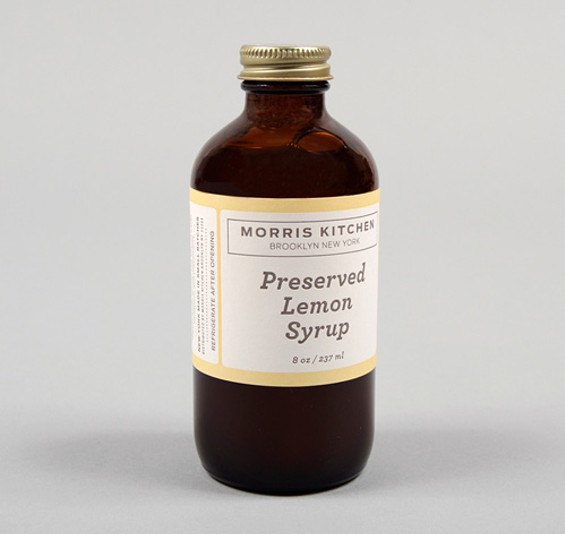 Preserved lemon syrup makes everything better. - MORRIS KITCHEN