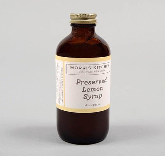 Preserved lemon syrup makes everything better. - MORRIS KITCHEN
