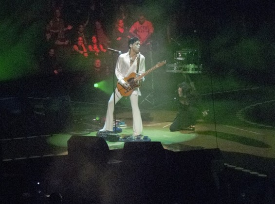 Prince, yes, Prince, in Oakland last night.