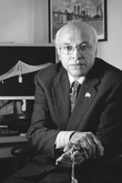 PAOLO  VESCIA - Professor Astaneh says Caltrans cut funding to UC - Berkeley following his criticism of the bridge design; - Caltrans denies any retaliation.