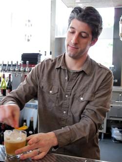 Prospect bar manager Davin Affrunti - LOU BUSTAMANTE