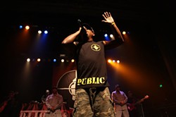 DAVE PEHLING - Public Enemy ruled the Regency.