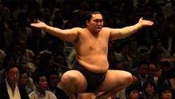 """Pure Corruption,"" Gibney's meditation on sumo wrestling."