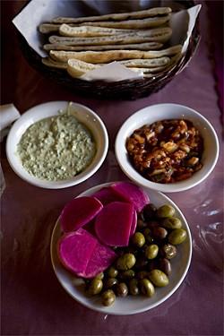 JEN SISKA - Putting the focus of Middle Eastern food on Palestine.