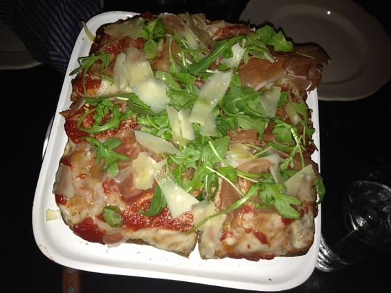 Quattro Forni pizza at Capo's. - TAMARA PALMER