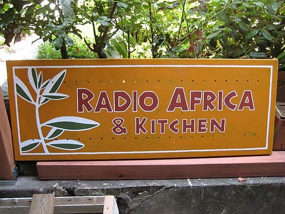 Radio Africa's Eskender Aseged hopes to open in September. - LINDSAY