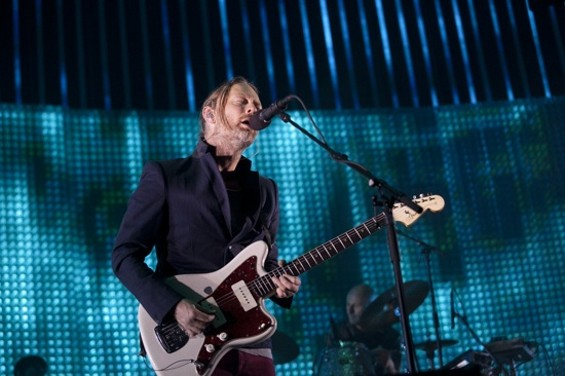 Radiohead in San Jose last night. - CHRISTOPHER VICTORIO