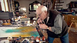 Ralph Steadman, illustrator of Hunter S. Thompson's atavistic America.