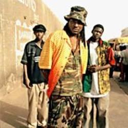 "Rapping ""Tasso"": Daara J from Senegal."