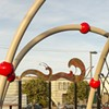Recent Acquisitions: New Sculpture Brings Some Much-Needed Color to the Sunset District