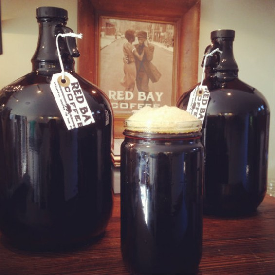 Red Bay jumps on the cold brew train. - RED BAY COFFEE ROASTERS
