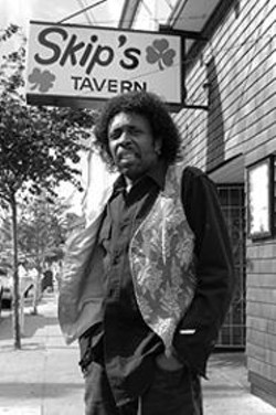 JAMES  SANDERS - Regi Harvey, music director of musicless - Skip's Tavern.