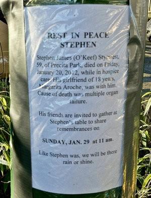 Remembering a neighborhood fixture. - BERNALWOOD