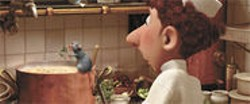 PIXAR CREATIVE SERVICES - Remy the Parisian Rat dreams of being a master chef in the latest animation film by Emeryville's Pixar.