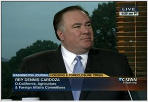 Rep. Dennis Cardoza, one of the Dems in favor of the marijuana war