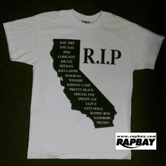 Rest in Peace shirt by Rapbay. - RAPBAY
