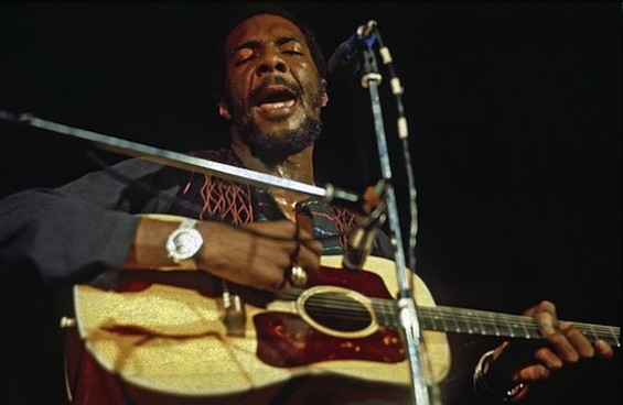 Richie Havens in 1972.