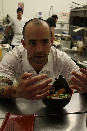 Richie Nakano at Hapa's May 8 pop-up at Coffee Bar. - DOTBEN/FLICKR