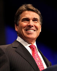 Rick Perry chooses to be straight and sober - WIKIMEDIA