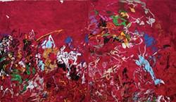 Robert Colescott's WMD: Remembering Sardanapalus.