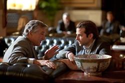 Robert De Niro and Bradley Cooper in a one-note, satire-free fairy tale.