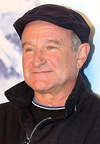 Robin Williams at the premiere of Happy Feet 2 in 2011. - WIKIPEDIA