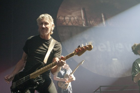 Roger Waters performedThe Wall at Oracle Arena Friday night. - CHRISTOPHER VICTORIO