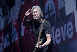 CHRISTOPHER VICTORIO - Roger Waters turned The Wall into a rallying cry Friday night.