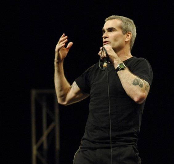 Rollins onstage (file photo).