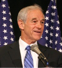 Ron Paul, crazy person.