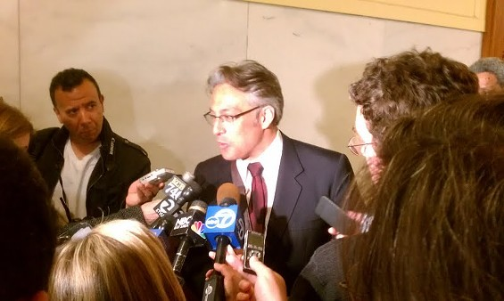Ross Mirkarimi didn't get answers today -- but he did get a schedule - JOE ESKENAZI
