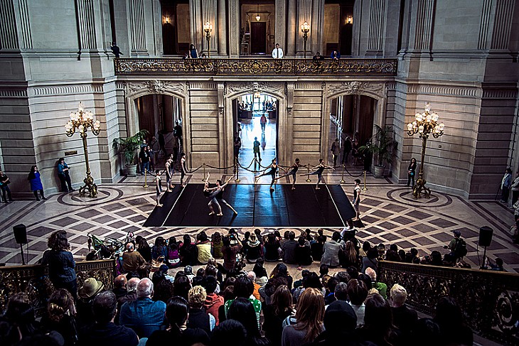 Rotunda Dance Series @ City Hall