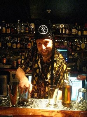 Rummy: Cate stays up late making custom ingredients for his rum drinks. - MIKE D./YELP