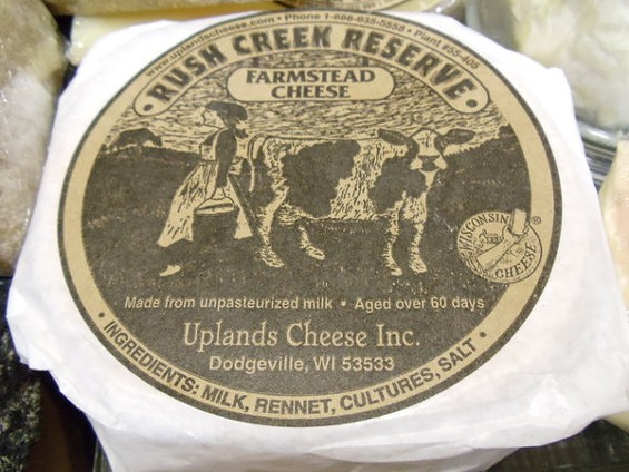 Rush Creek Reserve from Uplands Creamery: French aspirations. - GORDON EDGAR